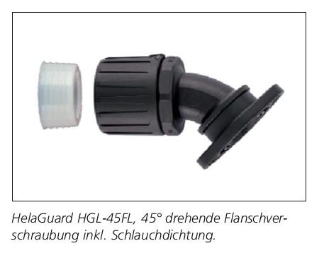 HGL-45FL 45°-Verschraubung,IP68